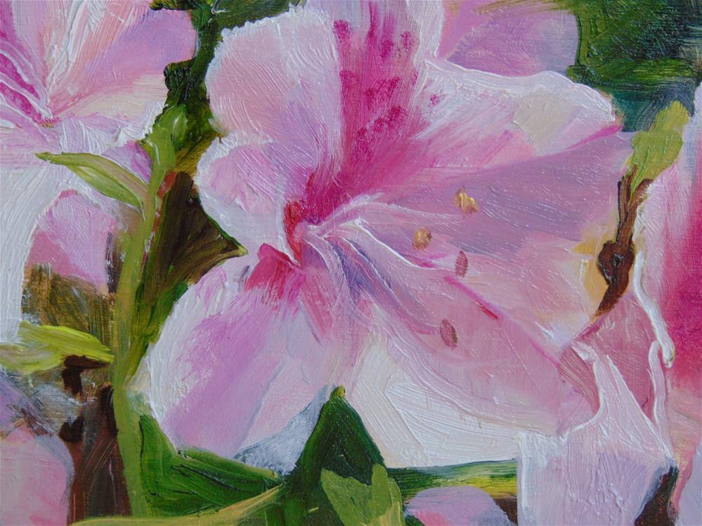 """""""Azaleas"""" original fine art by Catherine Kauffman"""