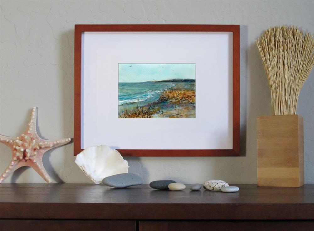 """Along the Shore"" original fine art by Linda Henry"