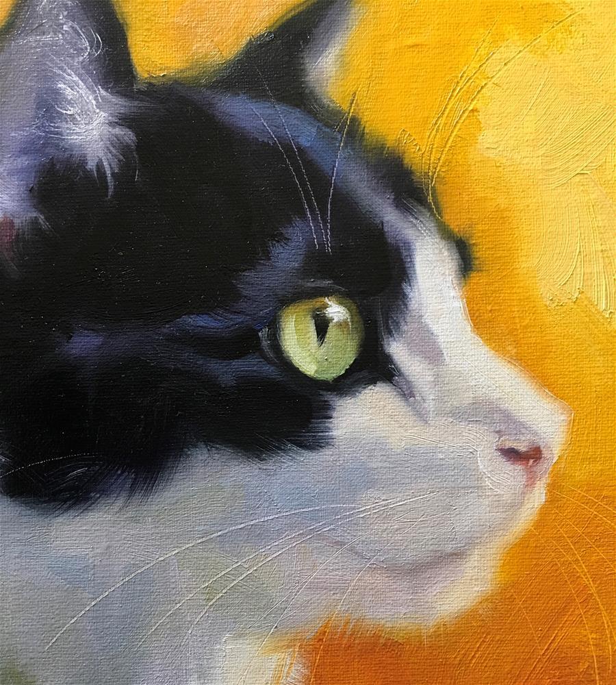 """Adopt375"" original fine art by Katya Minkina"