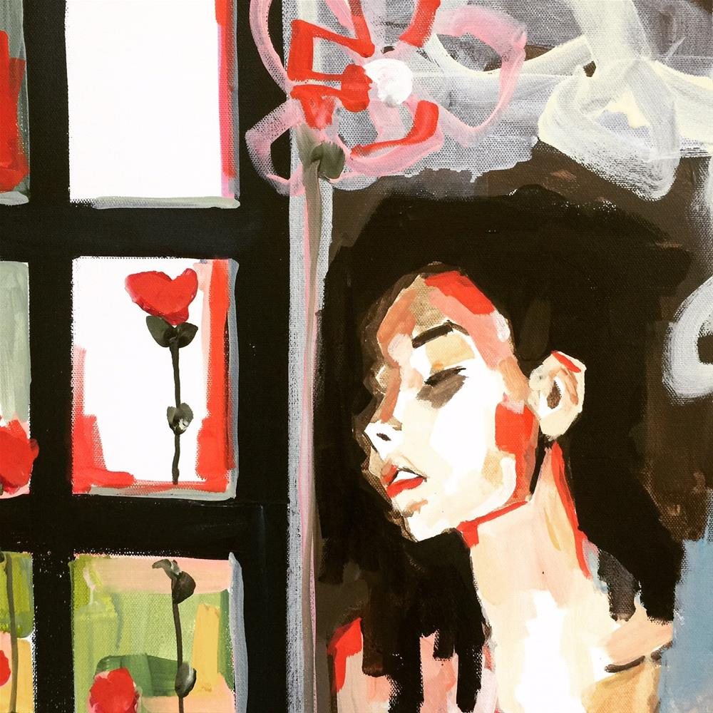 """""""561 Red Roses Too"""" original fine art by Jenny Doh"""