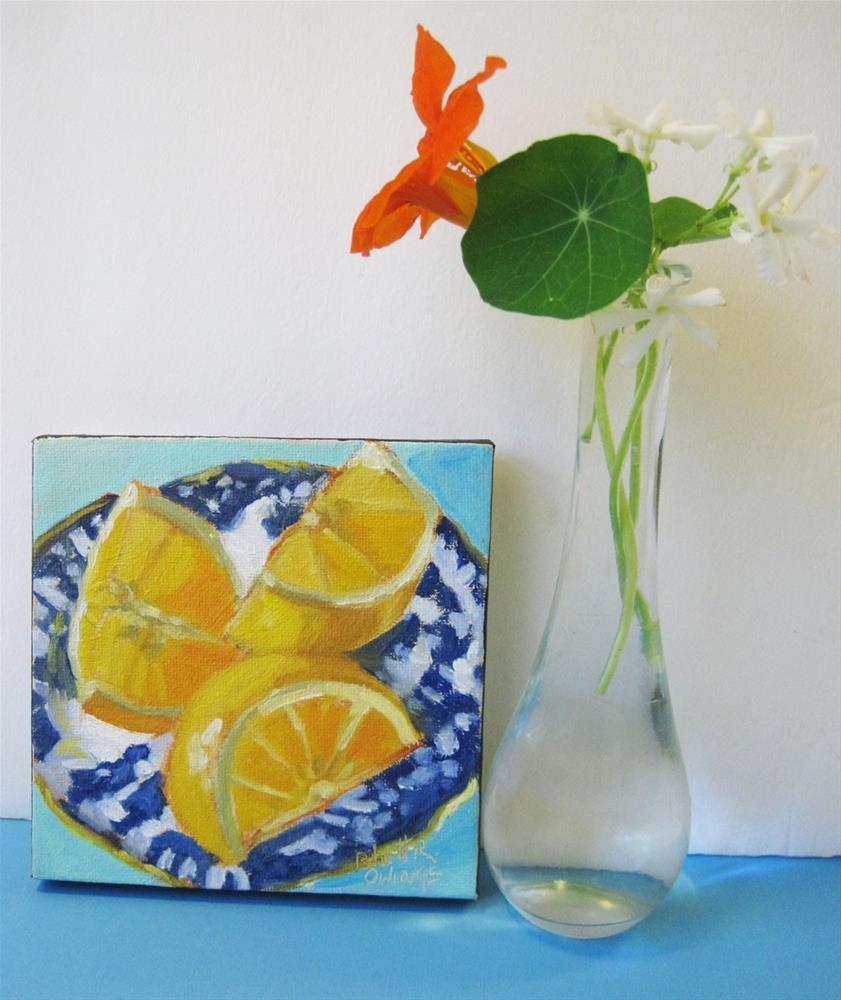 """Oranges For Breakfast"" original fine art by Rhett Regina Owings"