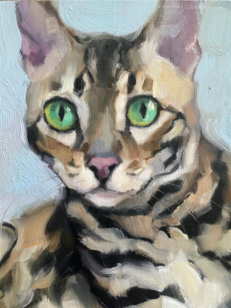"""Adopt326"" original fine art by Katya Minkina"