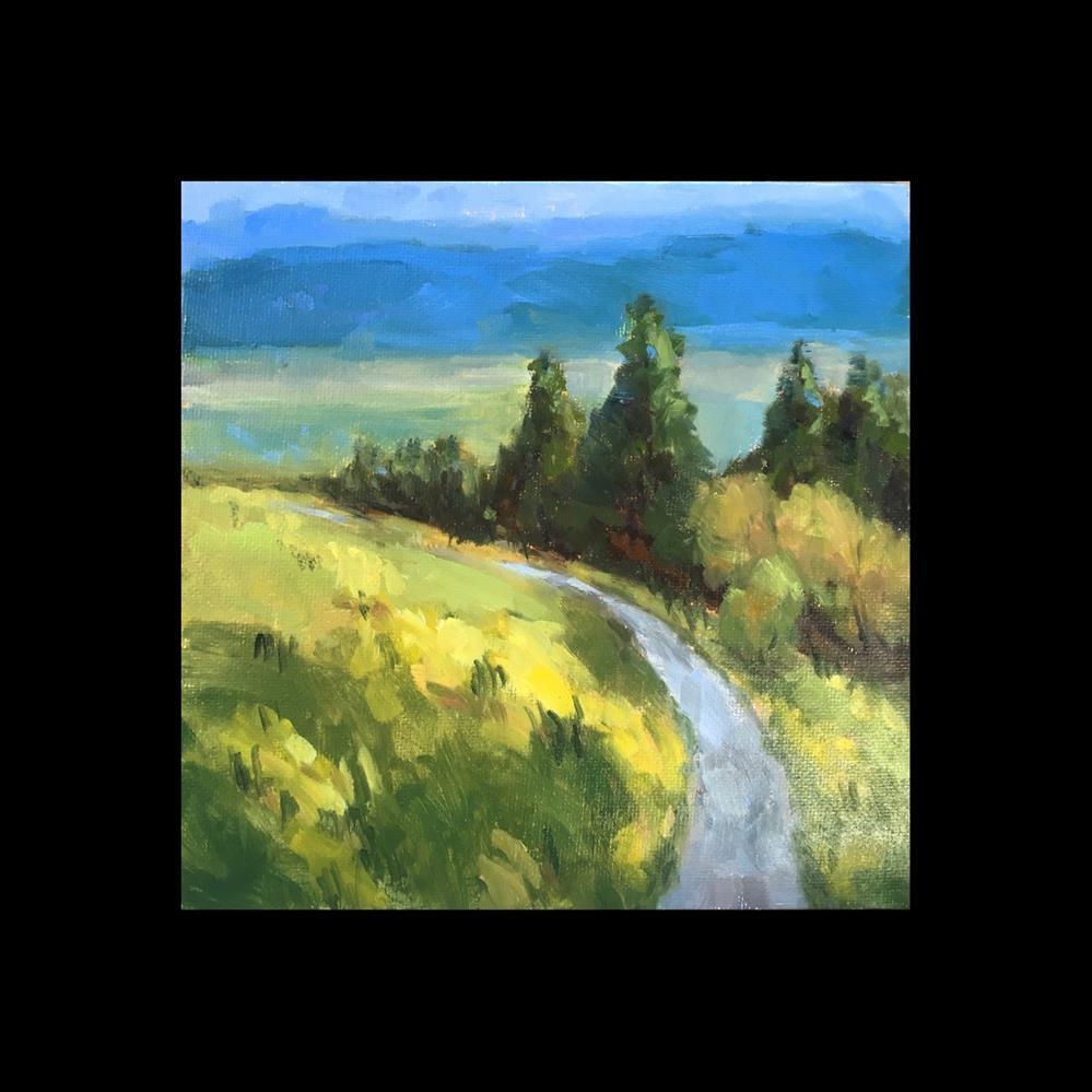 """Mt Baldy ll"" original fine art by Victoria  Biedron"