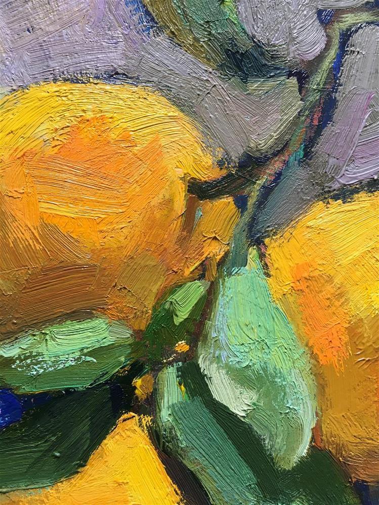 """Hana.Harvest#9"" original fine art by Katya Minkina"