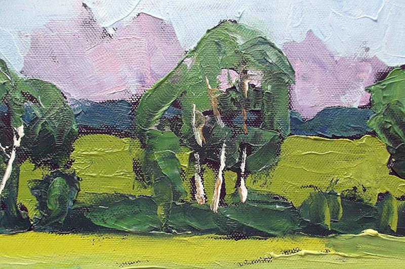 """""""California Spring"""" original fine art by lynne french"""