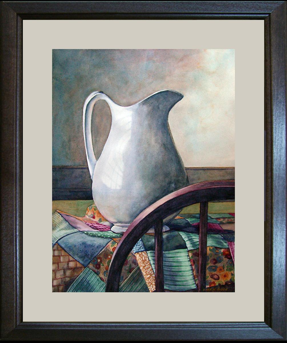 """Homespun"" original fine art by Kara K. Bigda"