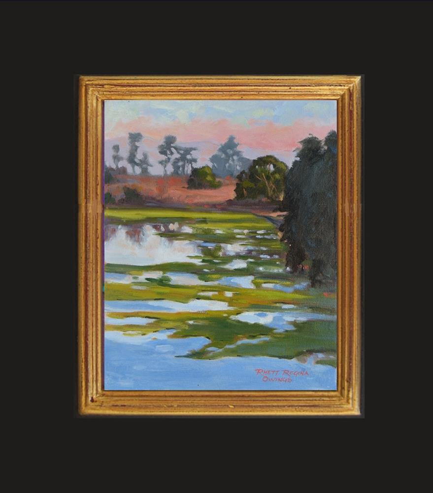 """End of the Day"" original fine art by Rhett Regina Owings"