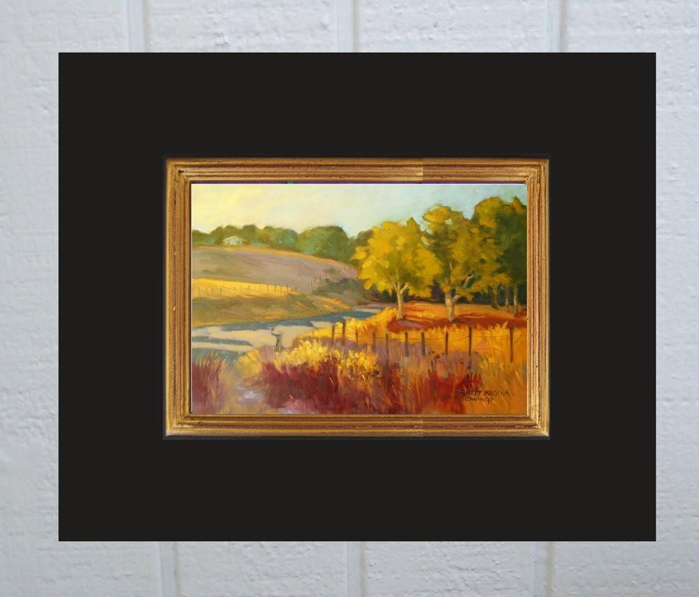 """The Mail Box"" original fine art by Rhett Regina Owings"