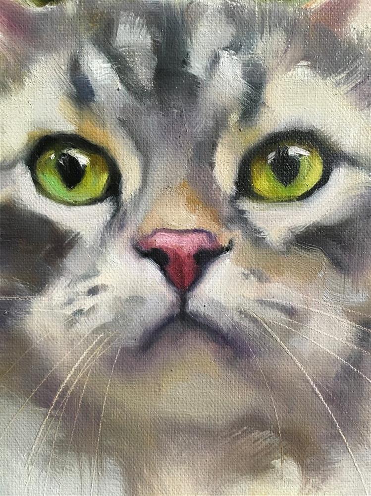 """Adopt362"" original fine art by Katya Minkina"