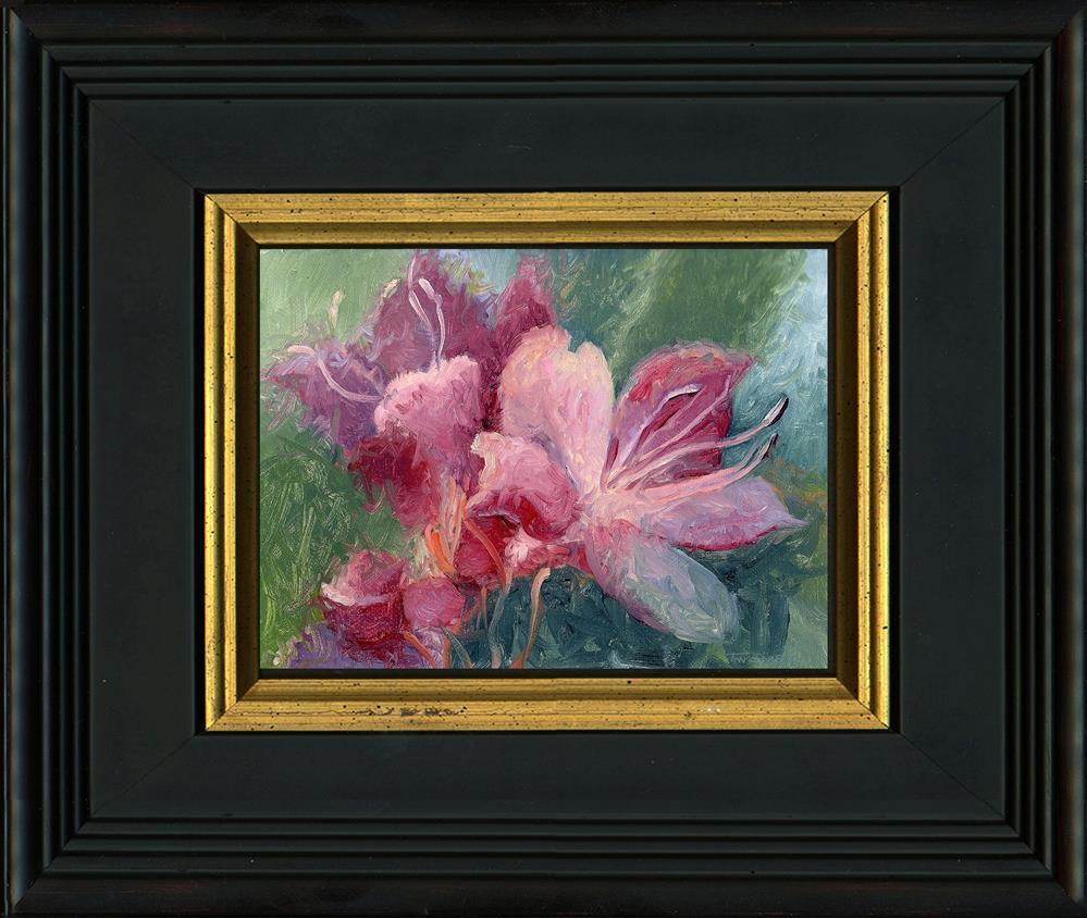 """Rhododendron Wild, 5.9.17"" original fine art by Catherine Twomey"