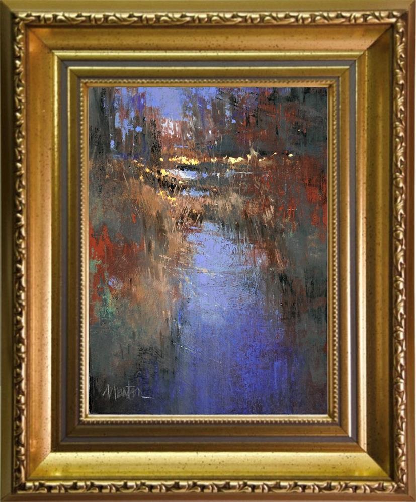 """Assurance"" original fine art by Barbara Benedetti Newton"
