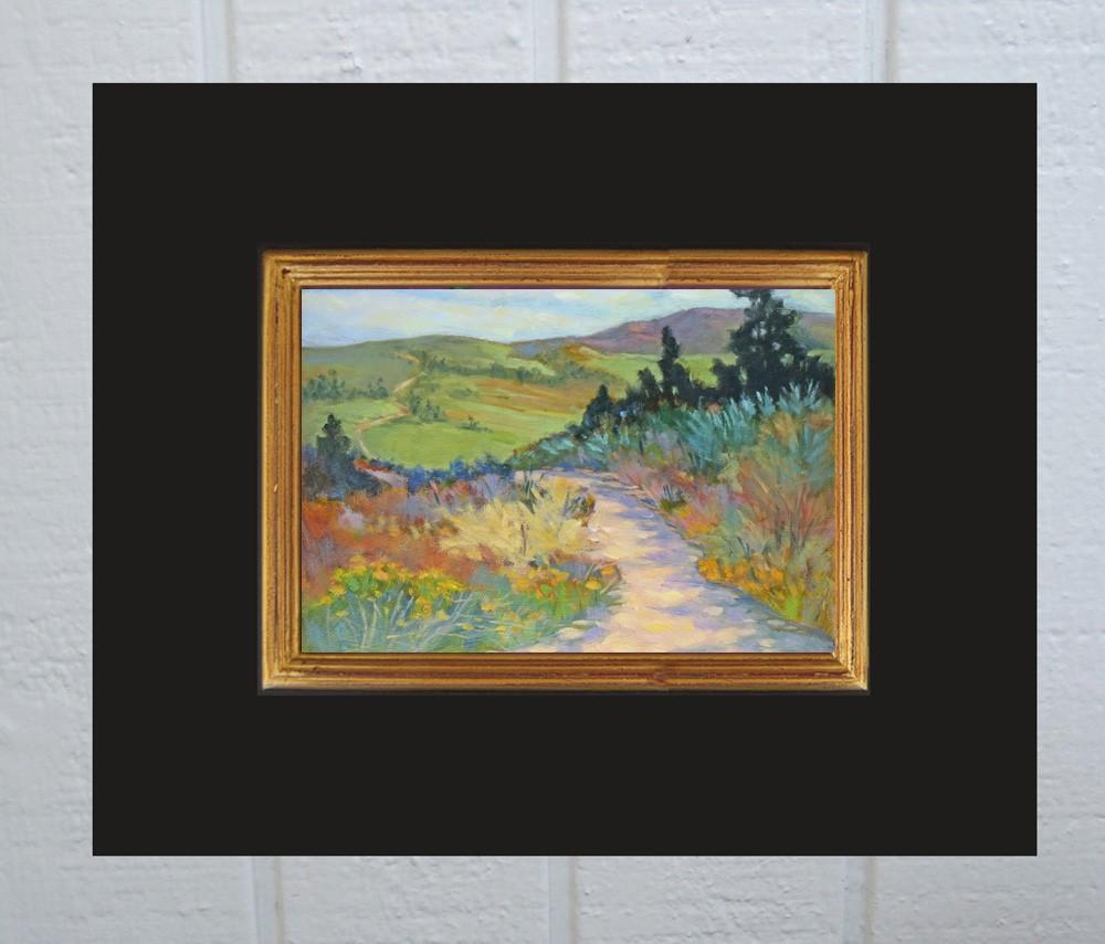 """""""Let's Take a Long Walk"""" original fine art by Rhett Regina Owings"""