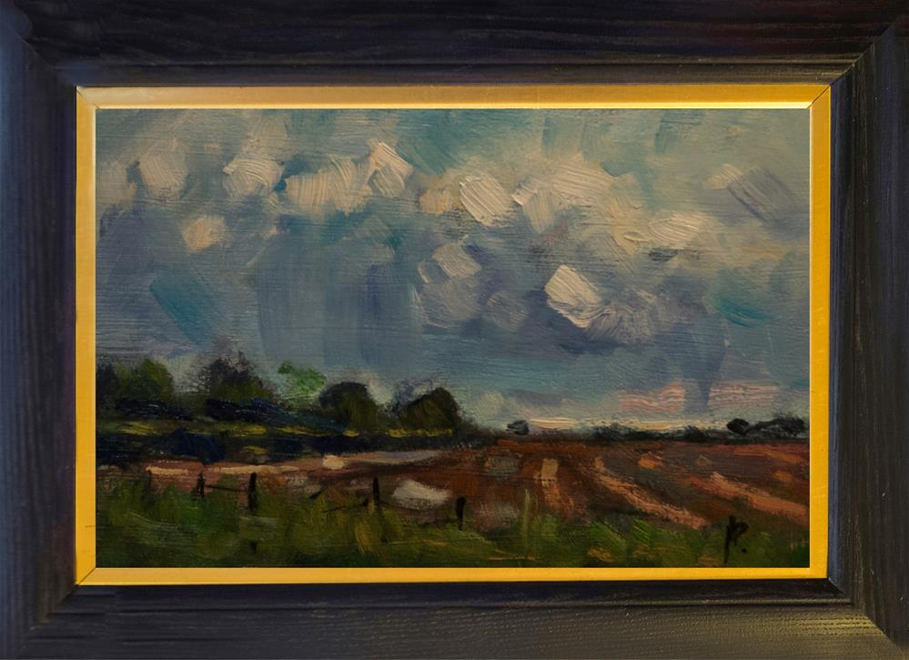 """""""Field at Oving (West Sussex)"""" original fine art by Andre Pallat"""