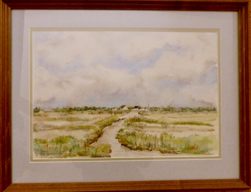 """Marshside"" original fine art by Judith Freeman Clark"