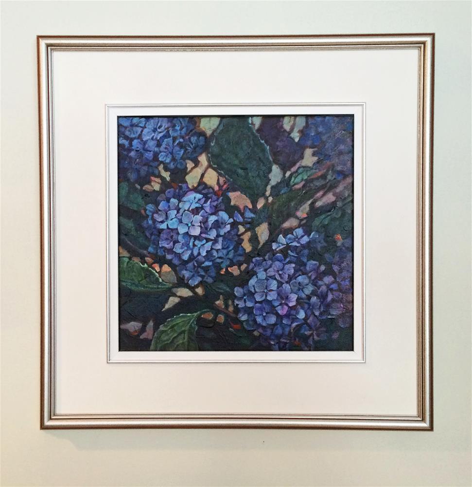 """""""BLOW OUT SALE!! Hydrangea"""" original fine art by Nicoletta Baumeister"""