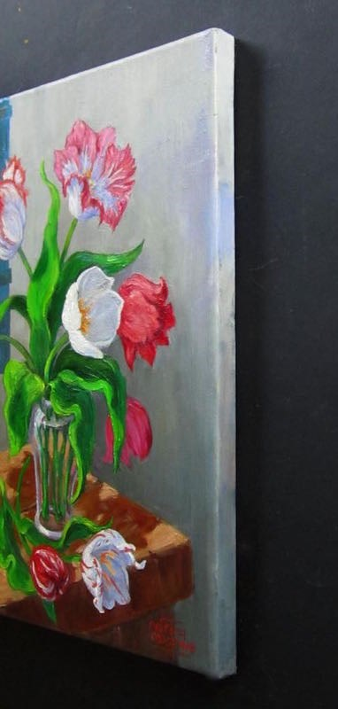"""Tulip Season"" original fine art by Patricia Musgrave"
