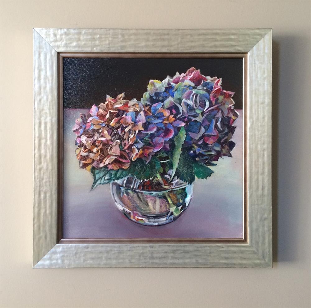 """2016/08  For Love framed"" original fine art by Nicoletta Baumeister"