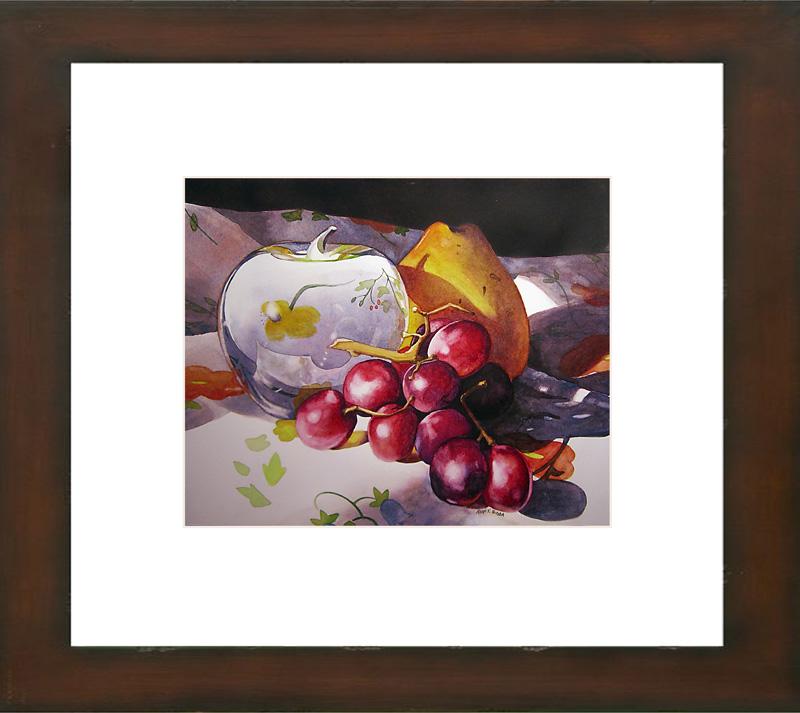 """The Glass Apple"" original fine art by Kara K. Bigda"