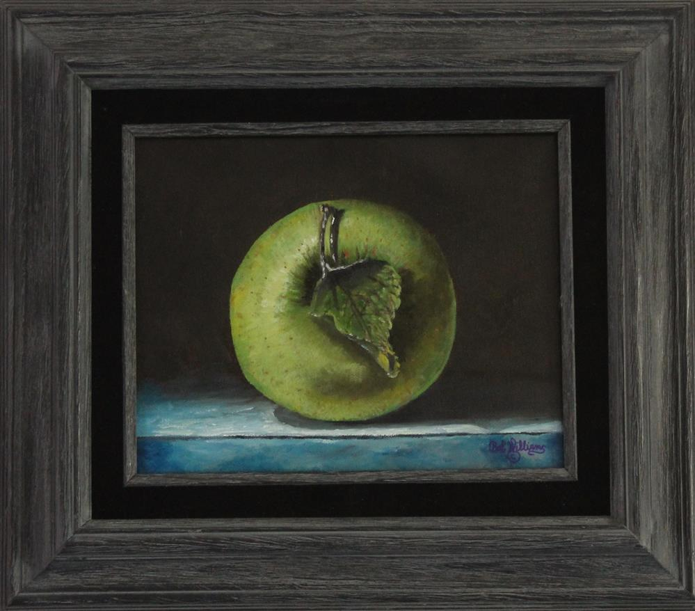 """Green Apple"" original fine art by Bob Williams"