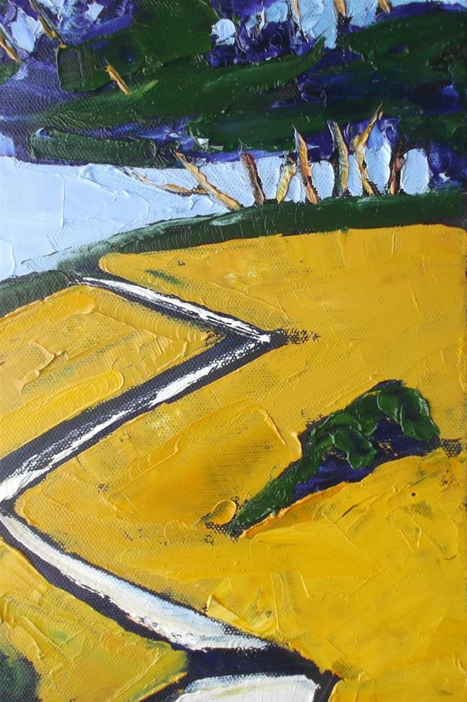 """""""Coastal Trail"""" original fine art by lynne french"""