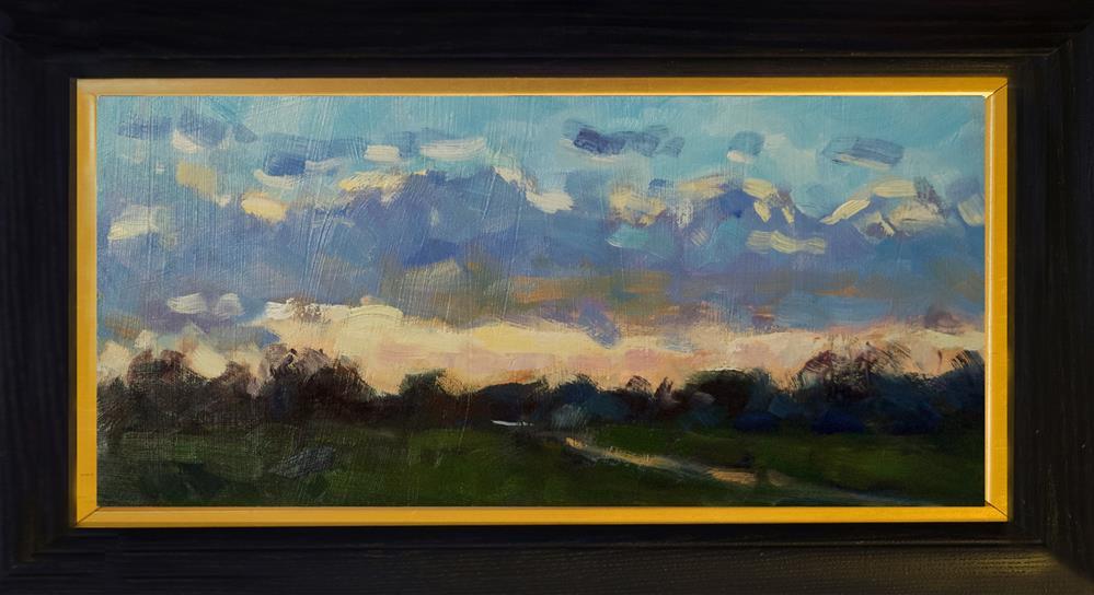 """Sunset, West Sussex"" original fine art by Andre Pallat"