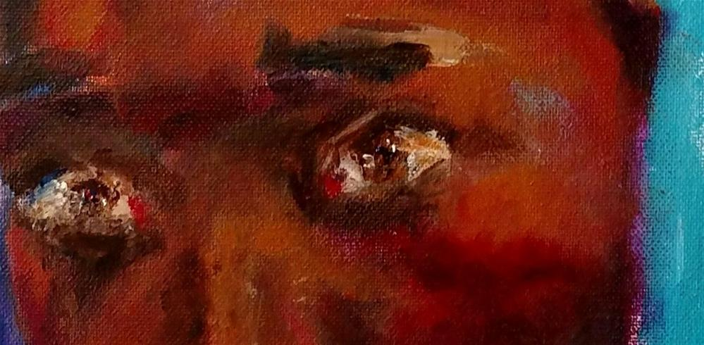 """The Eyes of Poverty"" original fine art by S. Lynne Price"