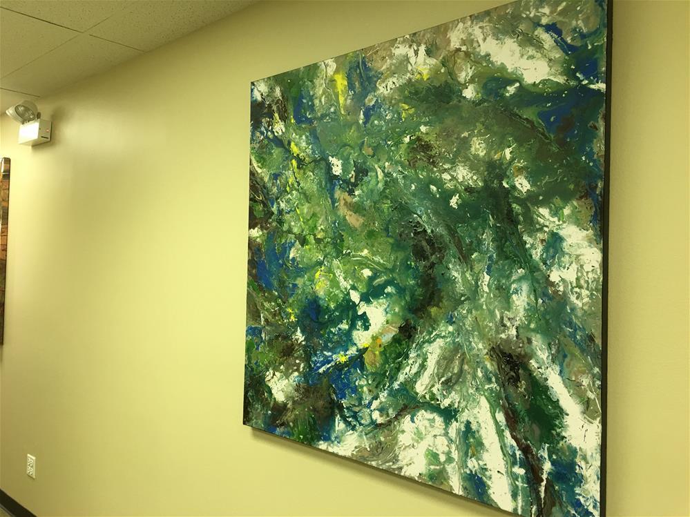 """Birth of Paradise,original painting on canvas"" original fine art by Khrystyna Kozyuk"