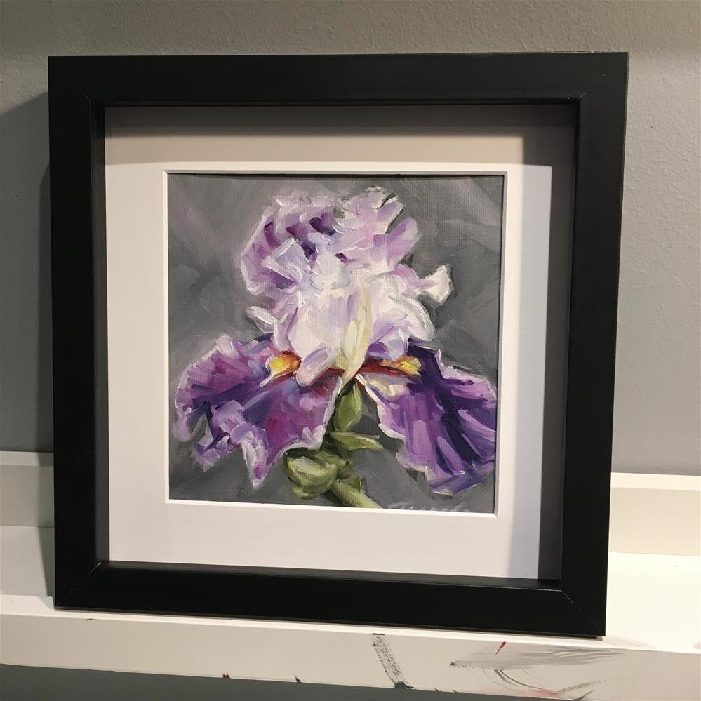 """Iris (19-16)"" original fine art by Tamanda Elia"