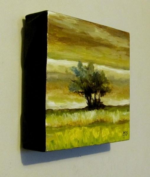 """Lonesome Tree II"" original fine art by ~ces~ Christine E. S. Code"