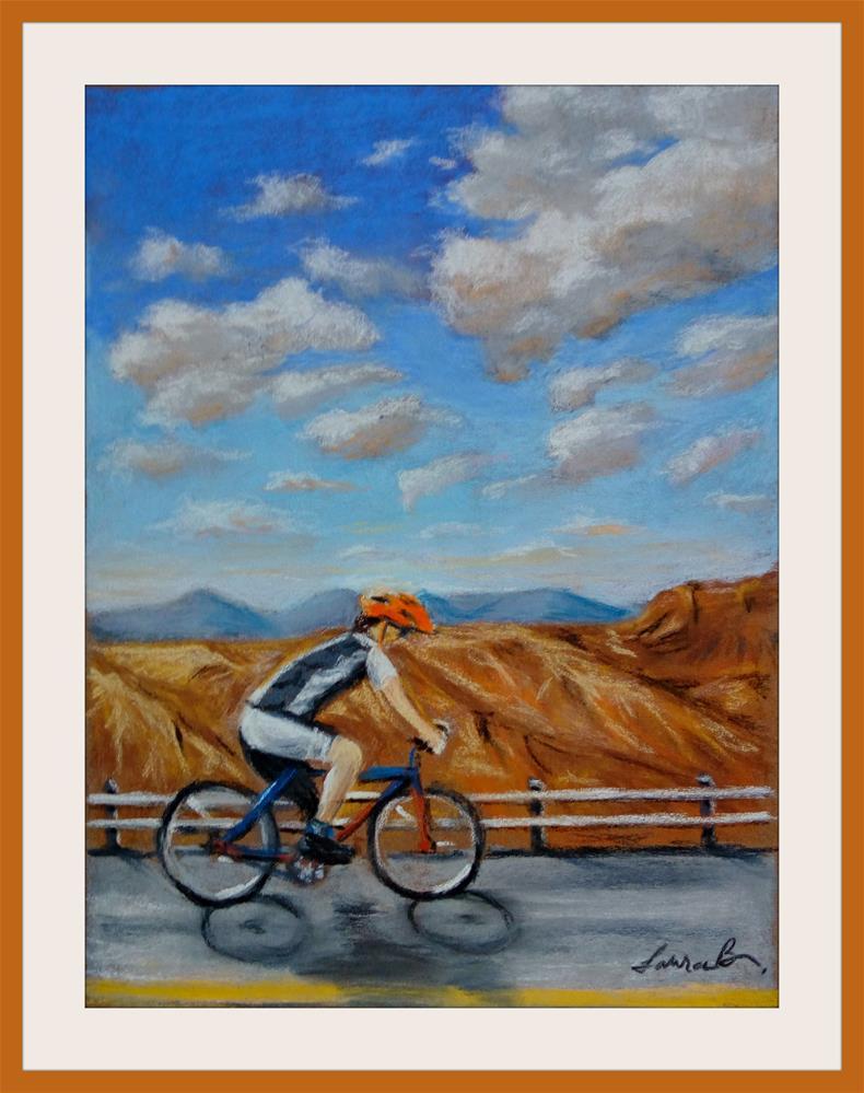 """Joyride"" original fine art by Laura B."