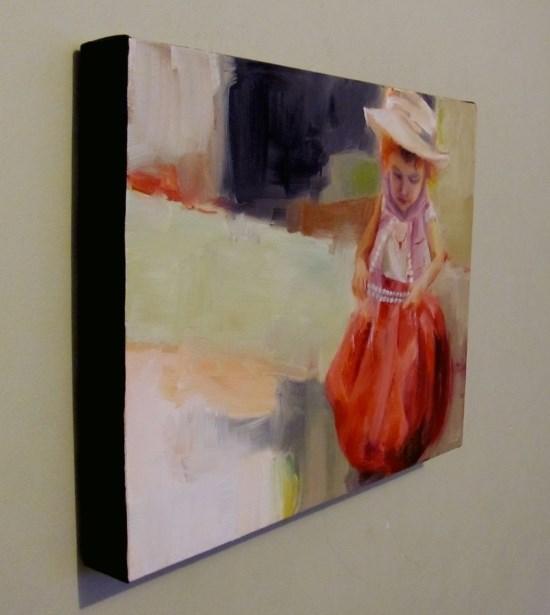 """""""Playing Dress Up"""" original fine art by ~ces~ Christine E. S. Code"""