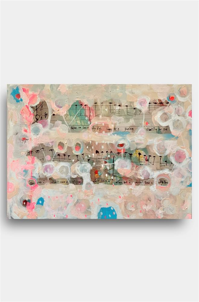 """873 High Hopes"" original fine art by Jenny Doh"