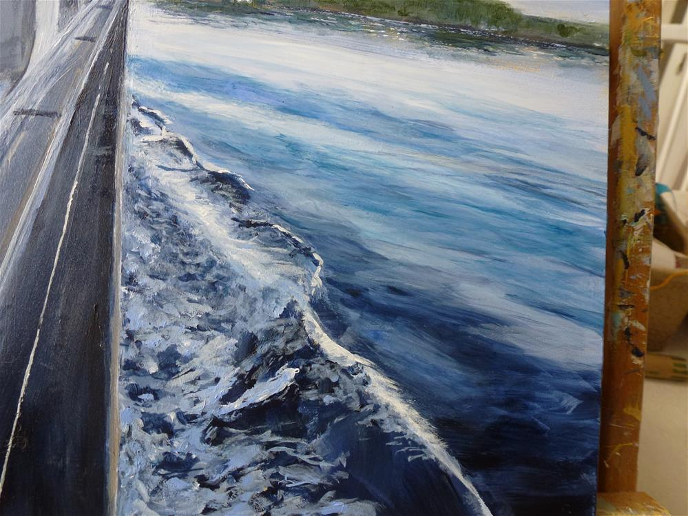 """San Juan Islands No. 2"" original fine art by Judith Elder"