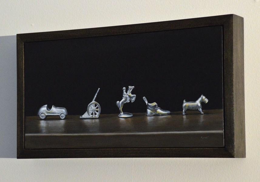 """A Little Parade"" original fine art by Kim Testone"