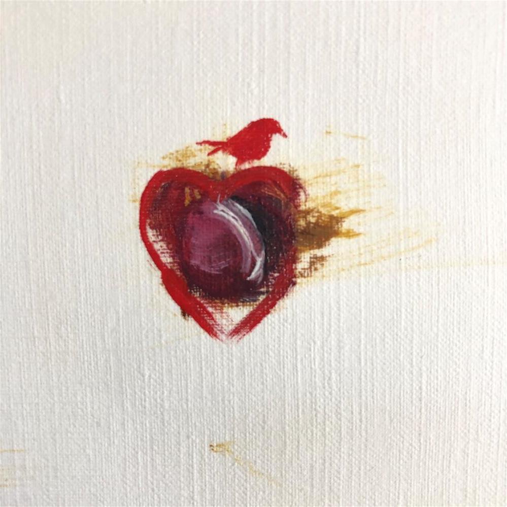 """Roach-ed"" original fine art by Paulette Farrell"