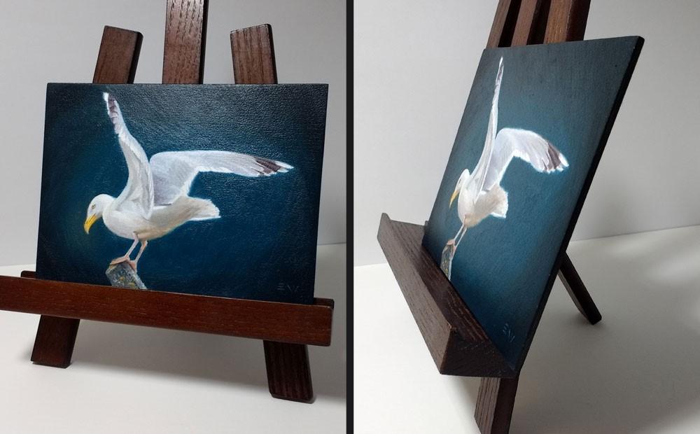 """""""Balance"""" original fine art by Ester Wilson"""