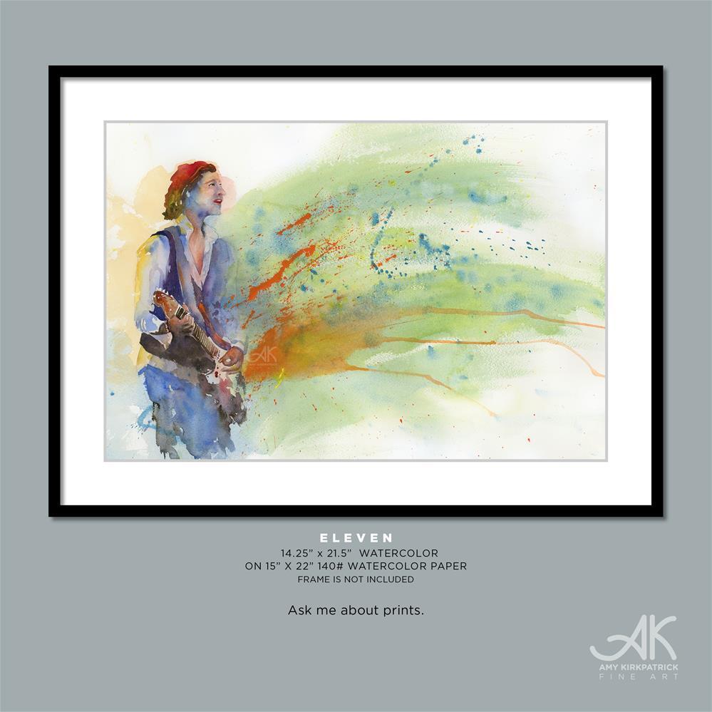 """""""ELEVEN #0620"""" original fine art by Amy Kirkpatrick"""