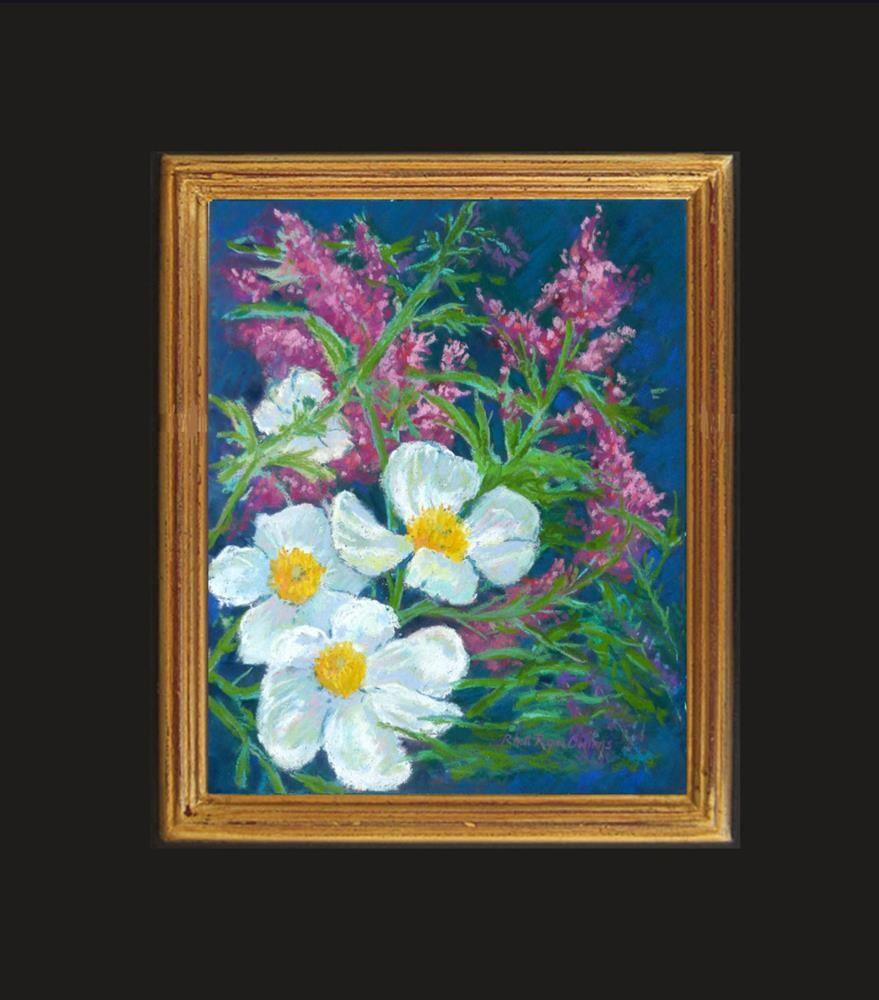 """ Matilija Poppies"" original fine art by Rhett Regina Owings"