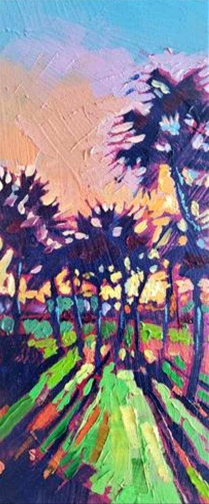 """Shadow Spectrum"" original fine art by Bhavna Misra"