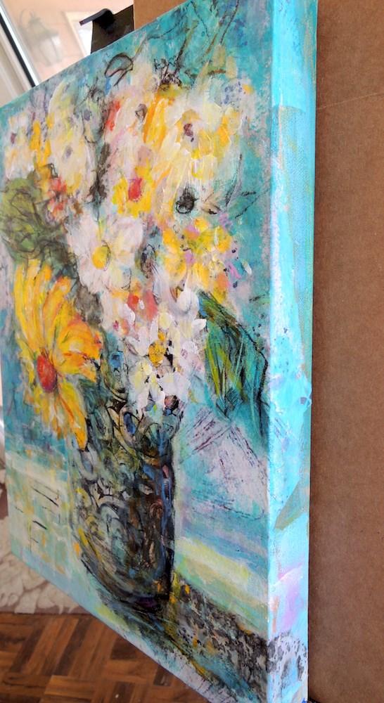 """Hawaiian Breeze"" original fine art by Mary Schiros"