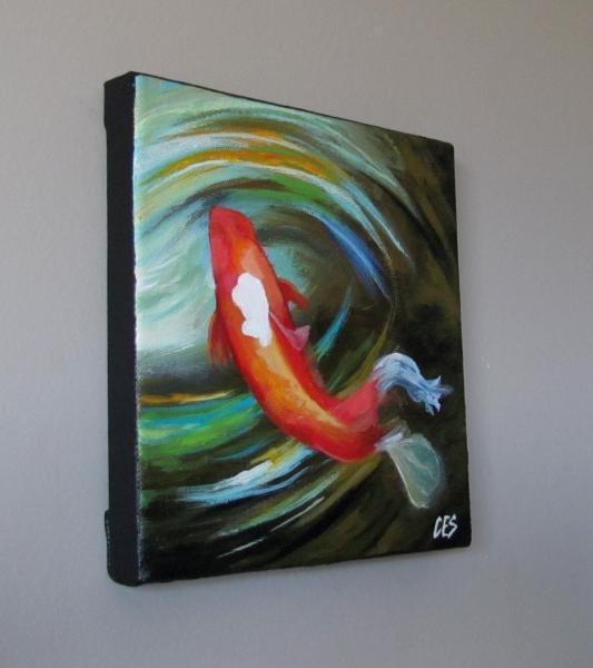 """Quick Turn"" original fine art by ~ces~ Christine E. S. Code"