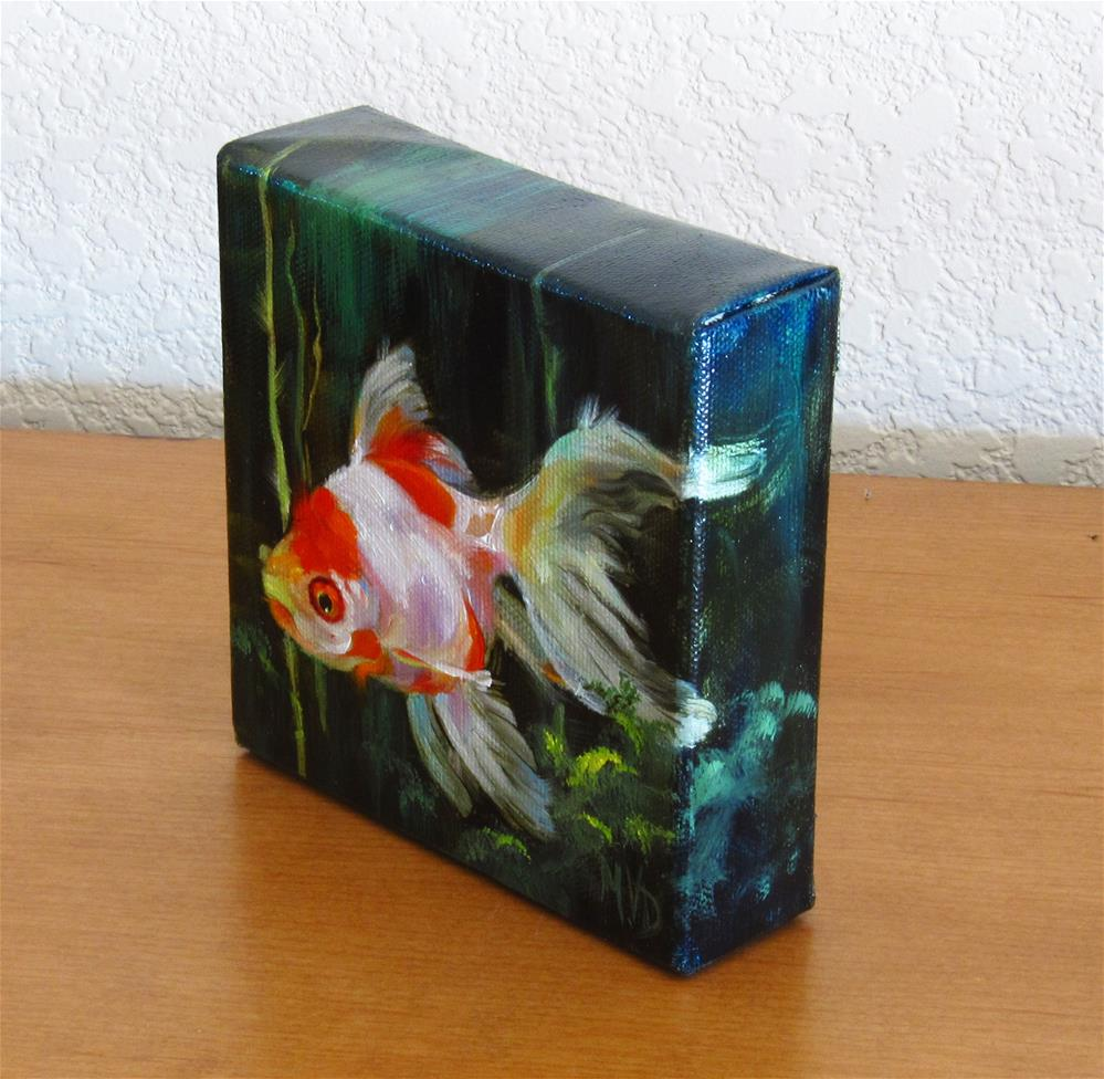 """Sea Angel"" original fine art by Mary Van Deman"
