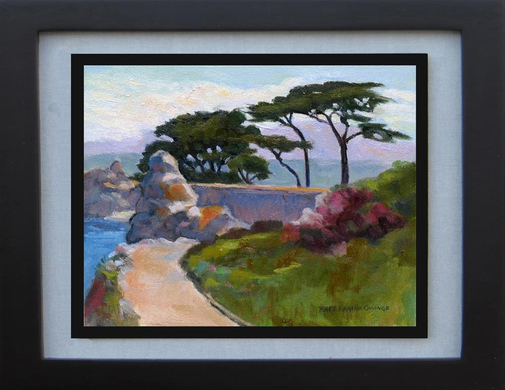 """Toward Lovers Point"" original fine art by Rhett Regina Owings"