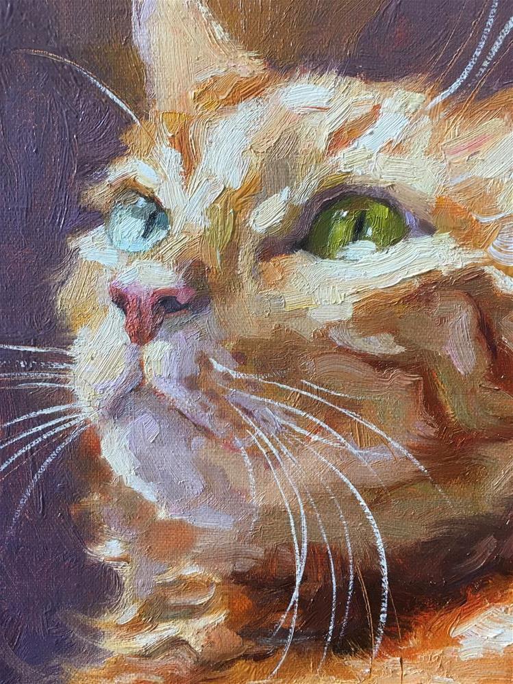 """Adopt276"" original fine art by Katya Minkina"