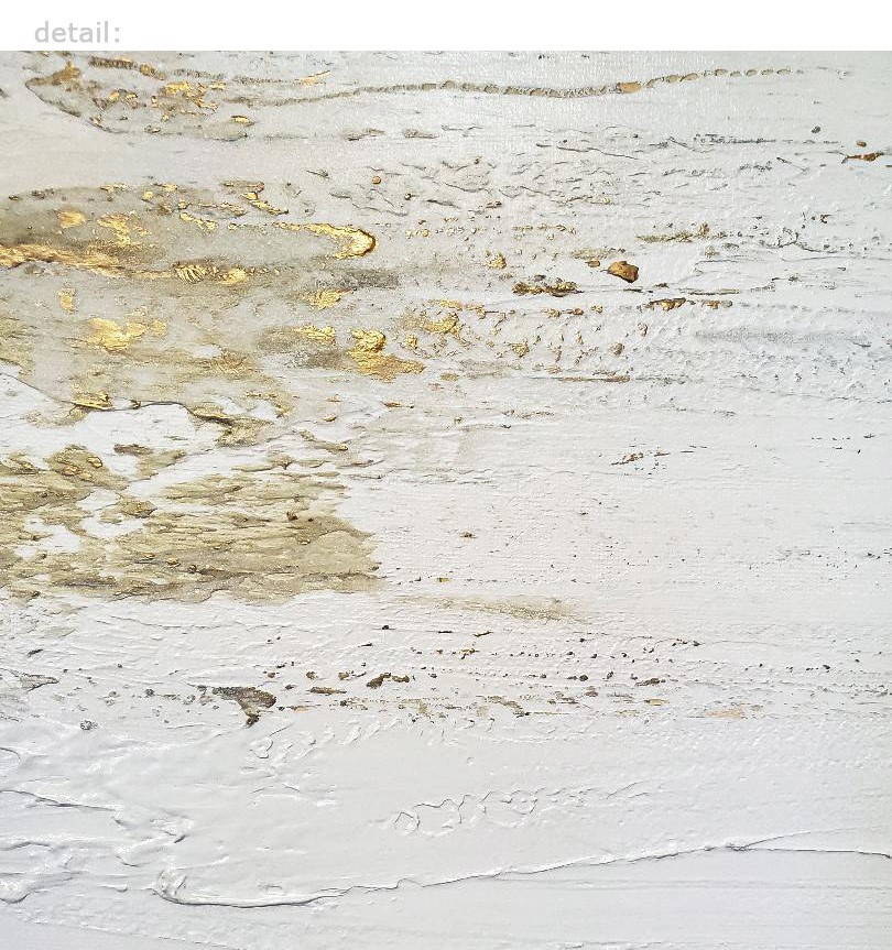 """Stria in Gold & White"" original fine art by Sunny Avocado"