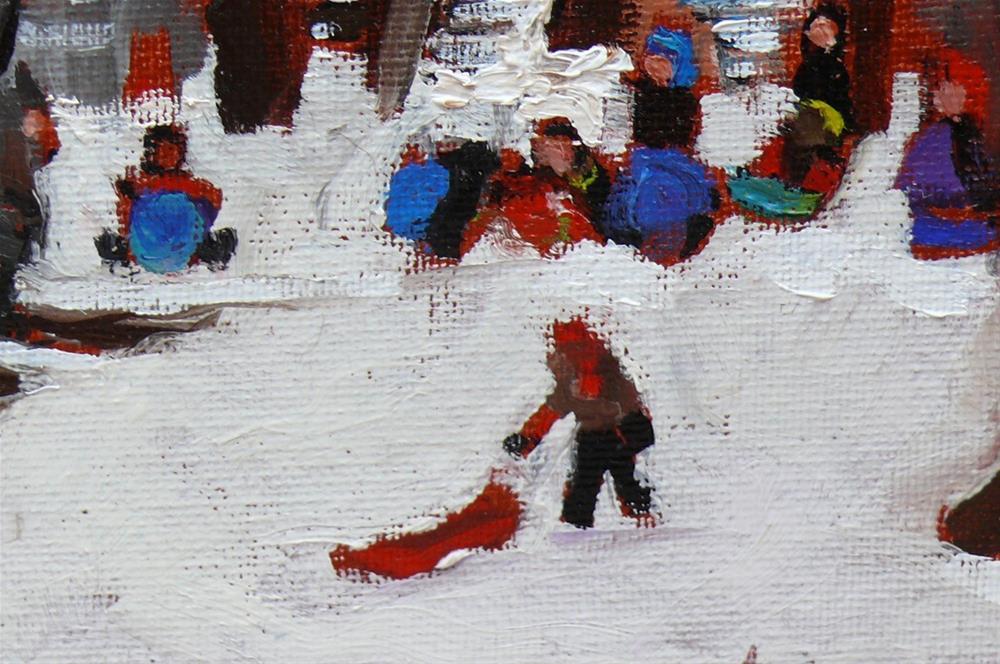 """Parc La Fontaine"" original fine art by Darlene Young"