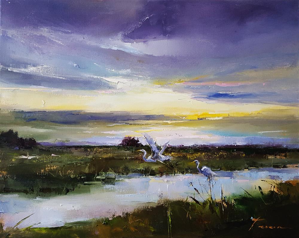 """marsh03"" original fine art by Teresa Yoo"