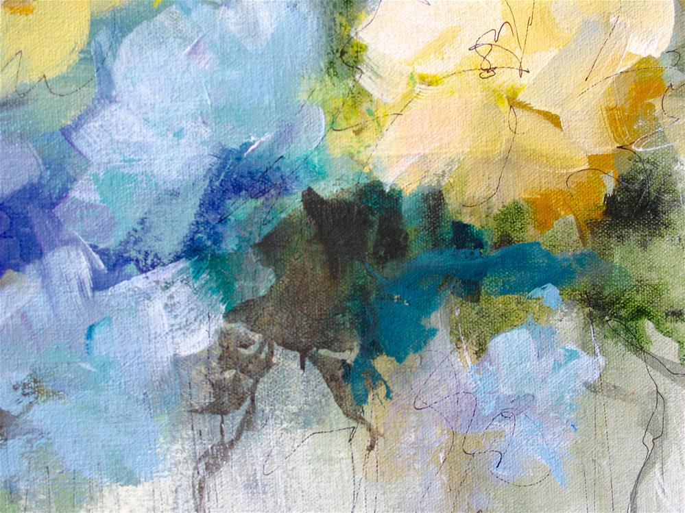 """From The Garden"" original fine art by Karen Hale"