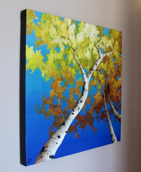 """Looking Up"" original fine art by ~ces~ Christine E. S. Code"