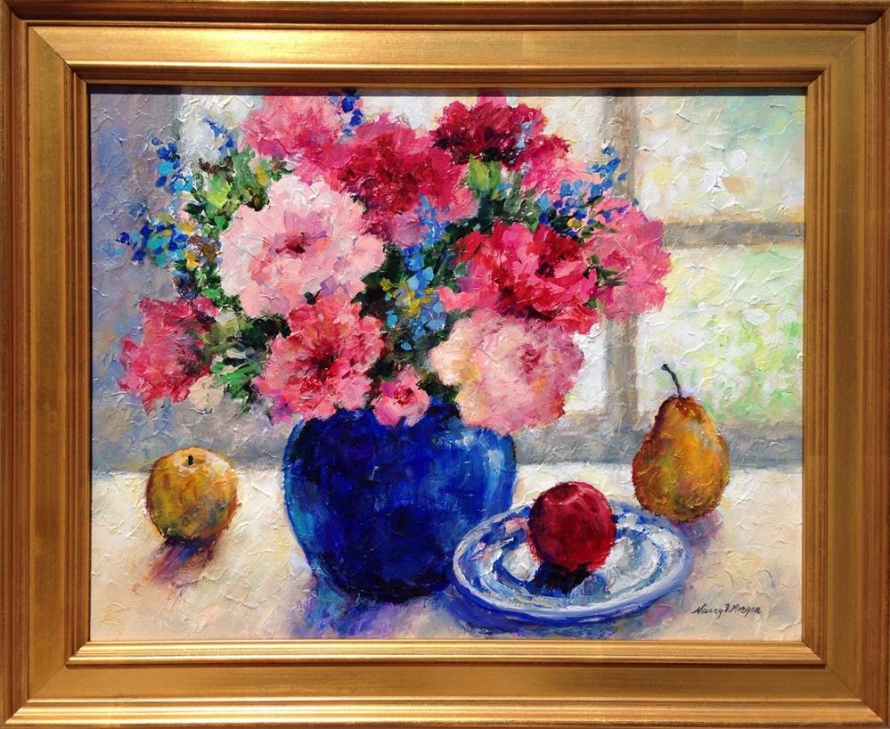"""""""Midsummer"""" original fine art by Nancy F. Morgan"""